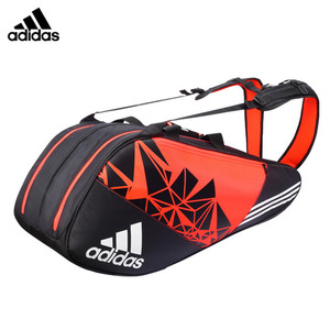 WUCHT P7 8 RACKET THERMO BAG (ORANGE & BLACK) 부흐트 P7 2단 가방 BG110211